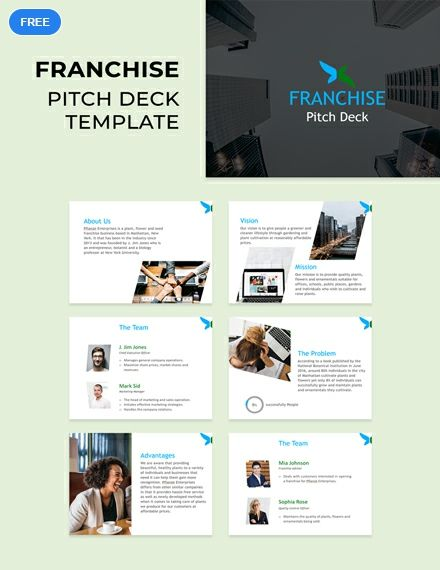 Download This Pitch Deck For Presenting Your Franchise Business To Clients And Investors Powerpoint Presentation Design Powerpoint Design Templates Franchising