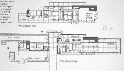 Goetsch-Winckler House / 2410 Hulett Rd., Okemos, Michigan ... on frank lloyd wright plan, zimmerman house plan, pope-leighey house plan,