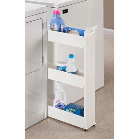 Rolling Storage Cart, Laundry Supplies, Laundry Room Organization, Medicine Organization, Shelf Design, Smart Home, Storage Spaces, Storage Ideas, Ez Storage
