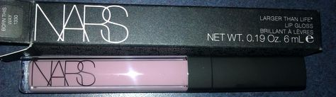 Make-Up Anonymous: Nars Larger Than Life Lip Gloss in BORN THIS WAY 1330