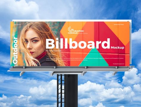 Free Advertisement Billboard Mockup Design For Brand Promotion - Mockup Planet