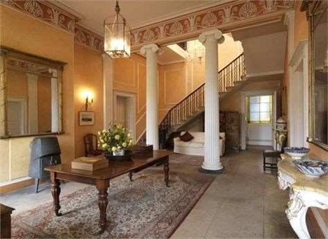 Hawkstone Hall Heaven For 5 Million Estate Interior Entrance Hall Hallway Designs