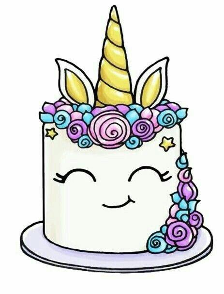 Queque Unicornio Dibujos Kawaii Dibujos Kawaii 365 Kawaii