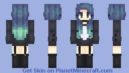 killua minecraft skin