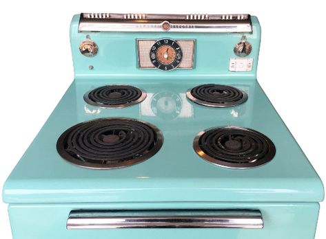 General Electric Turquoise Stove