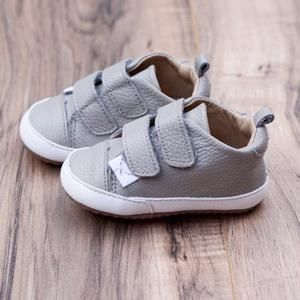 Casual Gray Low Top   Soft sole baby
