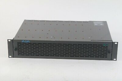 Ebay Sponsored Aja Video Systems Fr2 10 Slot Rackmount Frame Dual Power Supply