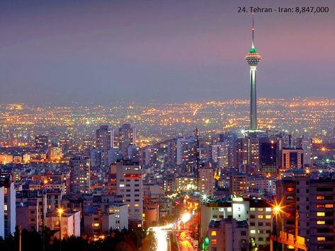 Top 30 Maiores Cidades Do Mundo Maiores Cidades Do Mundo