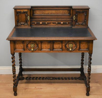Antique Oak Desk In 2020 Antique Oak Desk Oak Desk Antique Desk