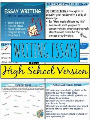 High School Essay Intensive Education Ideas Pinterest School - school essay