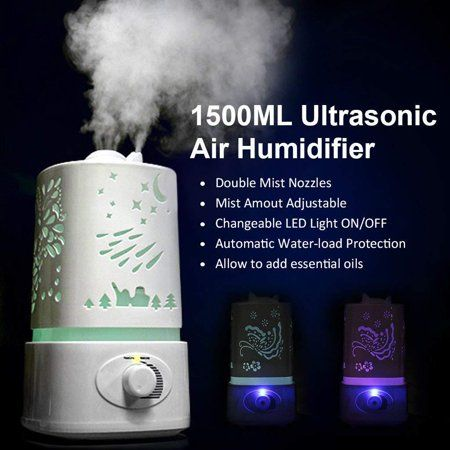 Candle Diffuser Cool Mist Humidifier For Baby Diffuser Home