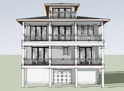 Plan 15222nc Upside Down Beach House With Third Floor Cupola Beach House Interior Beach House Floor Plans Beach House Design