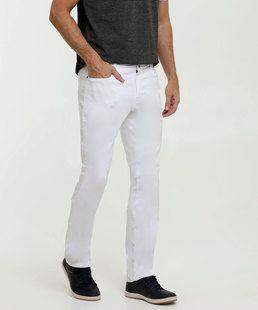 Calça de sarja masculina linda Ajustar calça de sarja masculina