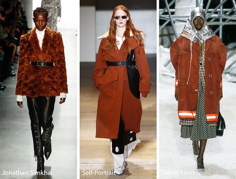 Fall/ Winter 2018-2019 Color Trends: Rust