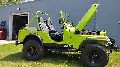 Ebay 1977 Jeep Cj 1977 American Motors Jeep Jeep Jeeplife Jeep Cj Jeep Jeep Cj5