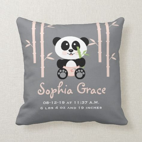 Bamboo Pillow Covers | | Panda