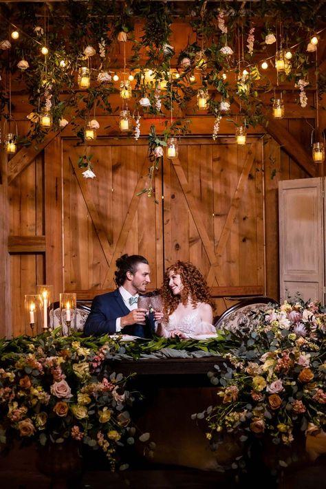 With its towering oak trees and beautiful outdoor ceremony space, Bridal Oaks was the perfect location for this whimsical, enchanted forest-themed wedding shoot. Orlando Wedding Blog   Orange Blossom Bride #vibrantwedding #orlandowedding #rusticwedding #weddinginspiration