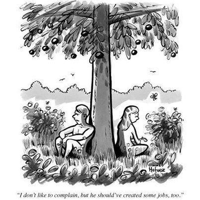 Job Creation The Beginning New Yorker Cartoons Cartoon Art