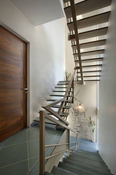 The Front Box A T Associates Stairs Design Staircase Design Stair Railing Design