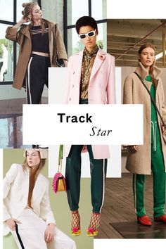 The Top Trends of the Resort 2017 Collections Graphic content ahead: Trade in your garden-variety trousers for a pair with a bold stripe. You'll feel longer, leaner, and infinitely more sportif in no time.