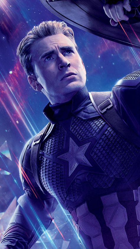 Captain America In Avengers Endgame Wallpapers | hdqwalls.com