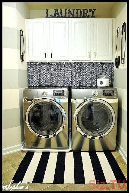 Beneath Cabinets Cleaning Cords Curtain Ideas Laundry Laundryroomcurtains Laund Laundry Room Makeover Laundry Room Laundry Room Design