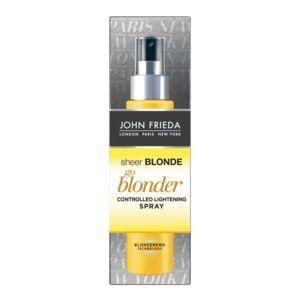 John Frieda Sheer Blonde Go Blonder Lightening Spray 3 5 Oz Cvs Pharmacy Colour Remover Hair Color Remover Oops Color Remover