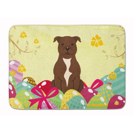 Easter Eggs Staffordshire Bull Terrier Chocolate Machine Washable