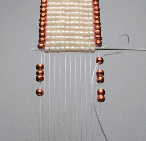 BEAD WEAVING ON A LOOM! I am here to share some of my techniques,