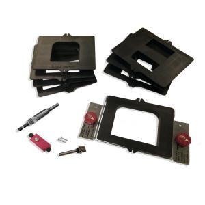 Milescraft Hingemate350 Jig Complete Door Mortising Kit 1220 Wooden Doors Router Jig Router Bits