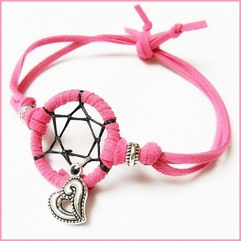 How To Make Dreamcatcher Bracelets Bangle And Indian Items