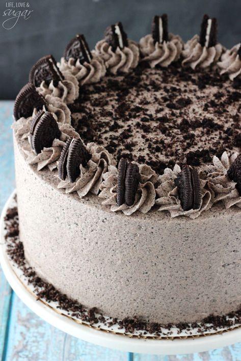 Chocolate Oreo Cake from @lifelovesugar