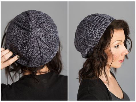 Chapeau Hand Knitted Shady Blue Gray Multicolor Winter Sherpa Pom Pom Beanie WO57PP