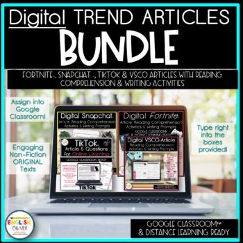 Digital Trend Articles Bundle | Distance Learning