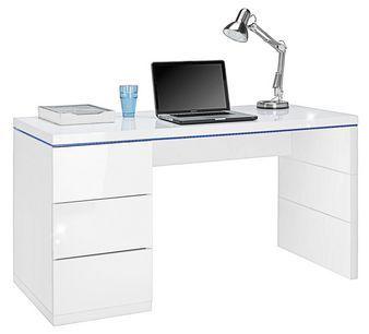 Schreibtisch In Weiss Hochglanz Online Kaufen Momax In 2020 Schreibtisch Weiss Hochglanz Schreibtisch Weiss Schreibtisch