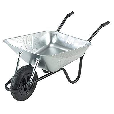 The Wallsall 85lt Galvanized Builders Wheelbarrow Would Be