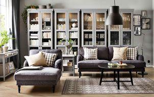 Soggiorno Ikea Idee : Idee per un soggiorno con stile b per la casa