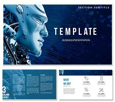Artificial Intelligence And Robotics Keynote Templates