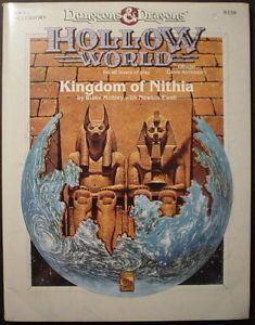 Hwr2 Hollow World Kingdom Of Nithia Dungeons Dragons Tsr