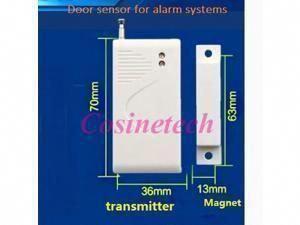 5 Pcs 433 315mhz Window Door Contact Sc2262 Ev1527 Door Magnetic Sensor Door Window Sensor Alarm For Home Secure Alarm Systems Homesecu In 2020 Wireless Home Security