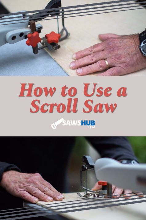 Learn how to use a scroll saw for your next scrolling project. This   simple saw is easy to learn for a DIY woodworking and intricate scrollwork project. #sawshub   #woodworking #howtomake #patterns #scrollsaw