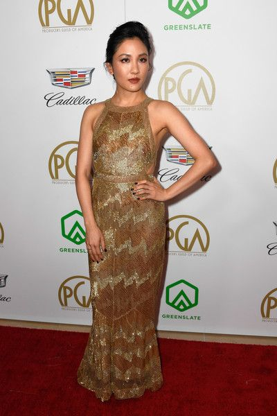 Constance Wu attends the 30th annual Producers Guild Awards at The Beverly Hilton Hotel.