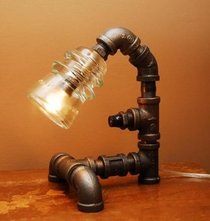 Lampe Lampen Rohr Beleuchtung Industrie Stil Lampen