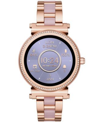 Michael Kors Access Women's Sofie Rose Gold Tone Stainless