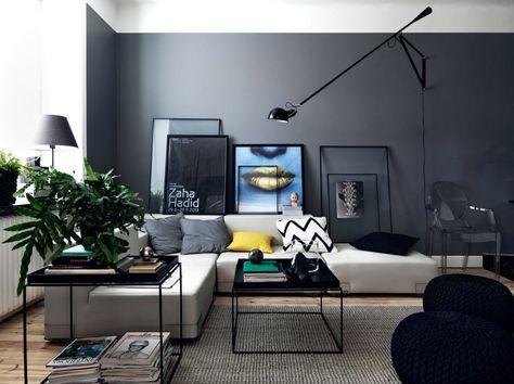 Pareti Colorate Per Salotto.Soggiorni Moderni 100 Idee E Stile Per Il Soggiorno Ideale