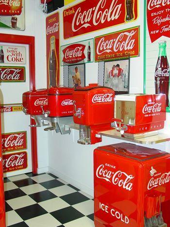 Coca Cola livre Boîte de rangement rétro Vintage Coke MANCAVE boisson-Choisissez votre taille