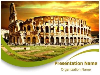 Check out our professionally designed #Ancient Rome #PPT #template - history powerpoint template