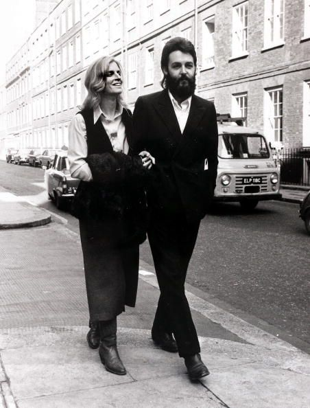 Entertainmentmusic, England, 19th by Popperfoto in 2020 | Paul and linda  mccartney, Linda mccartney, The beatles
