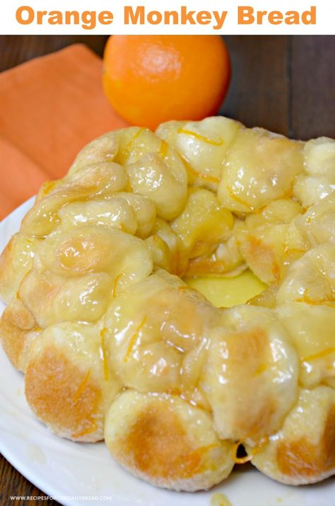 This Orange Monkey Bread is made with butter, sugar, biscuits, orange zest and fresh orange juice. You bite into a sweet and delicious citrus flavor with a surprise cream cheese center. My name is Diane from Recipes for our Daily Bread. I am excited about sharing this Orange Monkey Bread with you. If you enjoy …