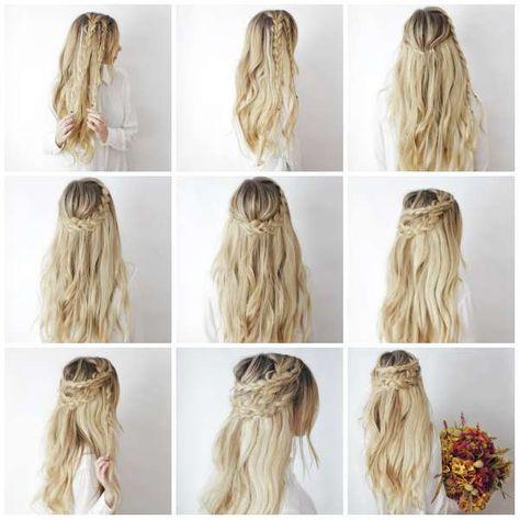 10++ Coiffure facile cheveux long a faire soi meme le dernier
